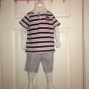 Carter's Striped Set